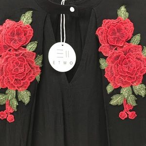 Dresses & Skirts - ETWO Top/Coverup 🌹 🌹New With Tags🌹Size L